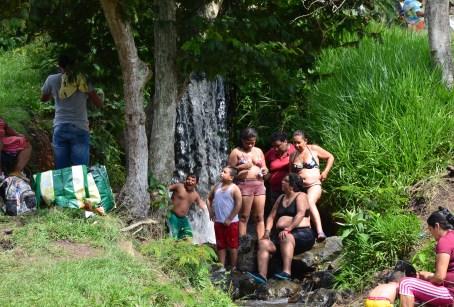 Swimming hole at Hacienda El Paraíso in Valle del Cauca, Colombia