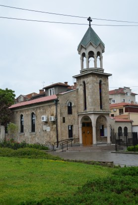 Surp Hach Armenian Orthodox Church in Burgas, Bulgaria