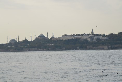 View of the historic city in Üsküdar, Istanbul, Turkey