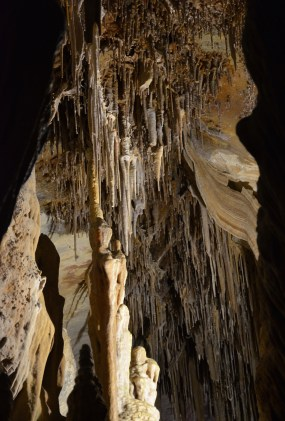 Cave formations at Lehman Caves, Great Basin National Park, Nevada