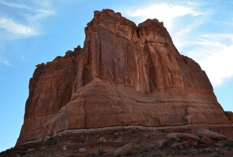 The Organ at Courthouse Towers Viewpoint at Arches National Park, Utah