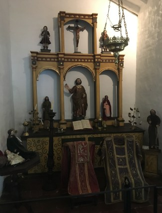 Chapel at Hacienda Piedechinche at Museo de la Caña in Valle del Cauca, Colombia