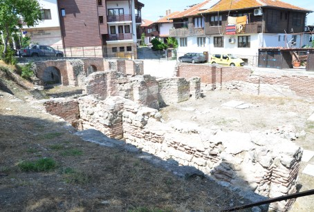 Roman baths in Nesebur, Bulgaria
