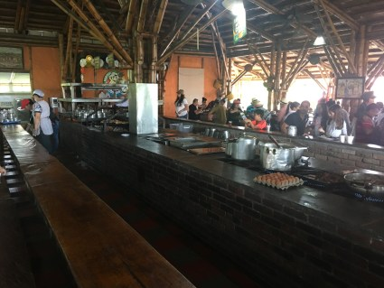 Restaurant at Parque Los Arrieros in Quimbaya, Quindío, Colombia