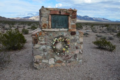 Entrance to the cemetery in Rhyolite, Nevada