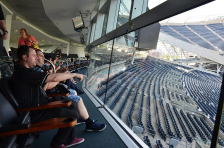 Skyline Suite at Soldier Field in Chicago, Illinois