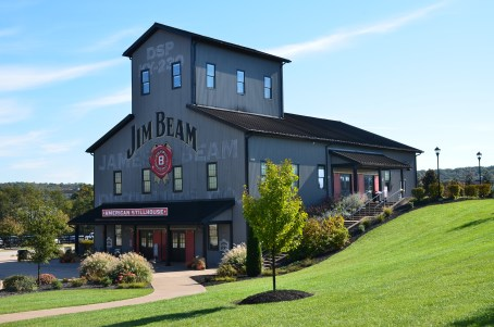 Gift shop at Jim Beam American Stillhouse in Clermont, Kentucky