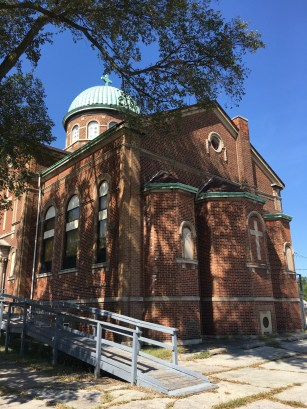 Former SS Constantine and Helen Greek Orthodox Church in Gary, Indiana