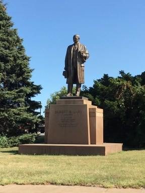 Elbert Gary statue in Gary, Indiana