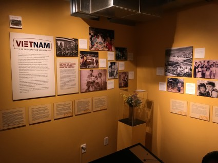 Vietnam in the Rearview Mirror at the Wing Luke Museum in the International District in Seattle, Washington