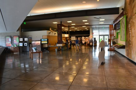 Visitor Center at Red Rock Canyon National Conservation Area in Nevada