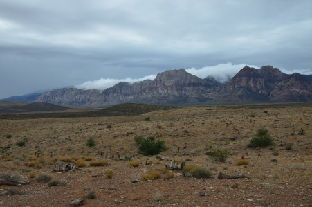 View from Calico I at Red Rock Canyon National Conservation Area in Nevada