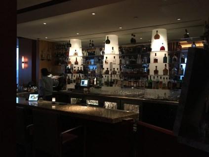 The bar at Alizé in Las Vegas, Nevada