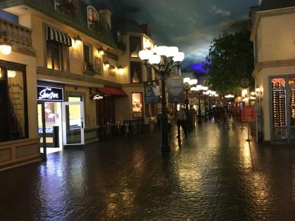Shopping area at Paris Las Vegas