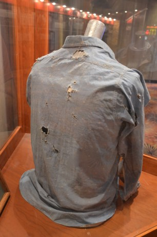 Clyde's shirt at Whiskey Pete's Casino in Primm, Nevada