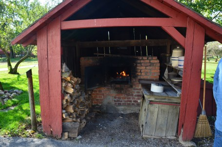Amish oven at Amish Acres in Nappanee, Indiana