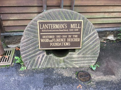 Lanterman's Mill at Mill Creek Park in Youngstown, Ohio