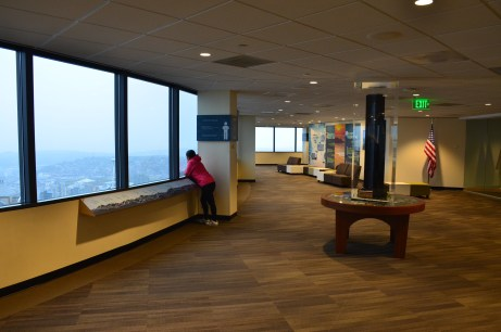 Sky View Observatory at Columbia Center in Seattle, Washington