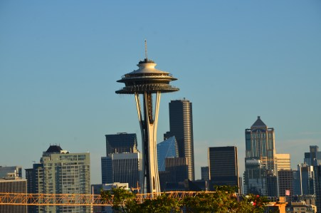 Space Needle from Kerry Park in Seattle, Washington