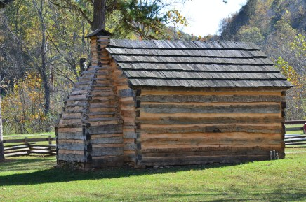 Gollaher cabin at Abraham Lincoln Birthplace National Historical Park in Kentucky