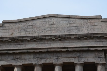 Memorial Building at Abraham Lincoln Birthplace National Historical Park in Kentucky