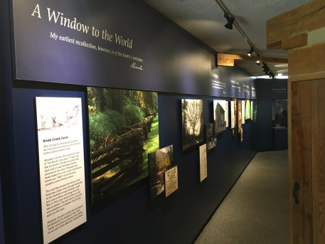Visitor center at Abraham Lincoln Birthplace National Historical Park in Kentucky