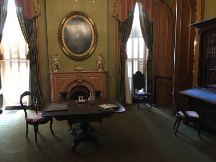 Parlor in the Hay House in Macon, Georgia