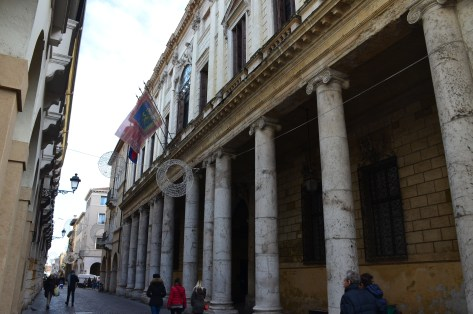 Palazzos in Vicenza, Italy (Not Designed by Palladio