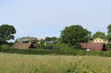 The farmlands in Nevlunghavn.