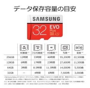 Samsung microSDカード 32GB EVO Plus Class10 UHS-I対応 スマホ カメラ向け_1