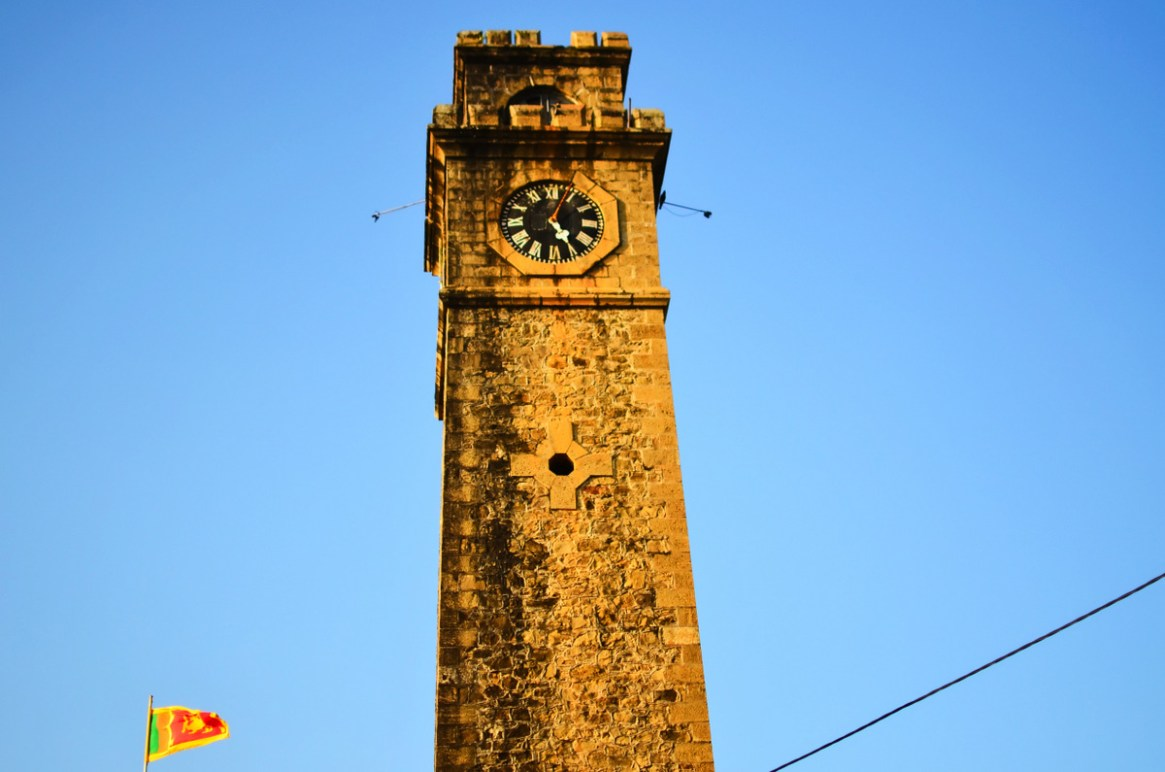 Galle Fort Clock