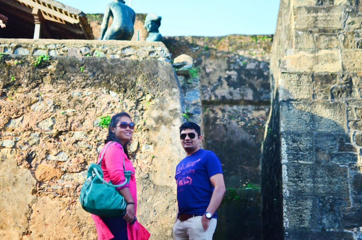 Entering the Galle Fort