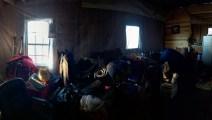 A lot of stuff to rearrange