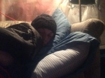 Sleeping in 20 degree weather