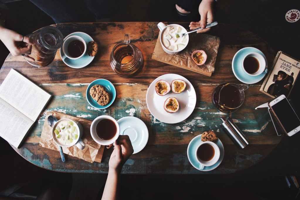 咖啡廳食物與餐點