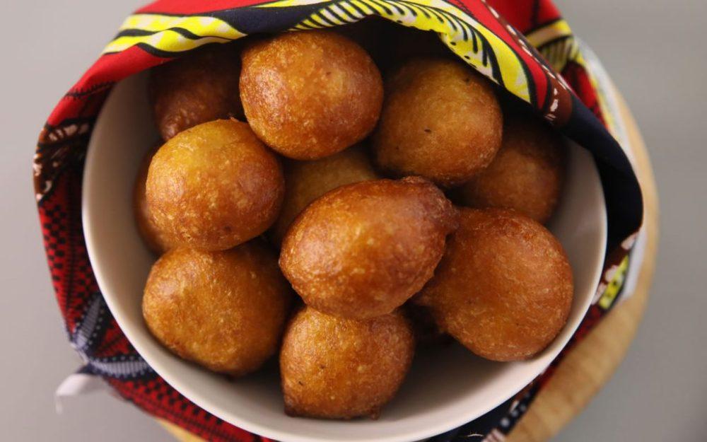 Nigerian food: Puff-Puff (Fried Sweet Dough Ball)