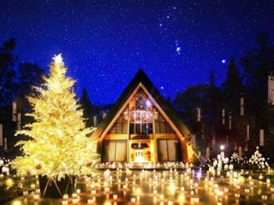 軽井沢高原教会 「聖なる森のクリスマス」