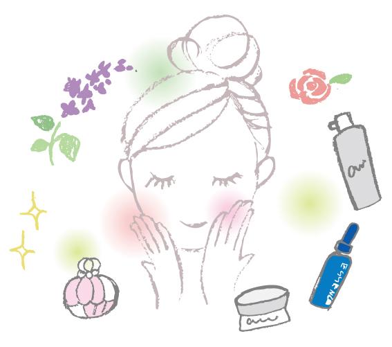 化粧品 女性