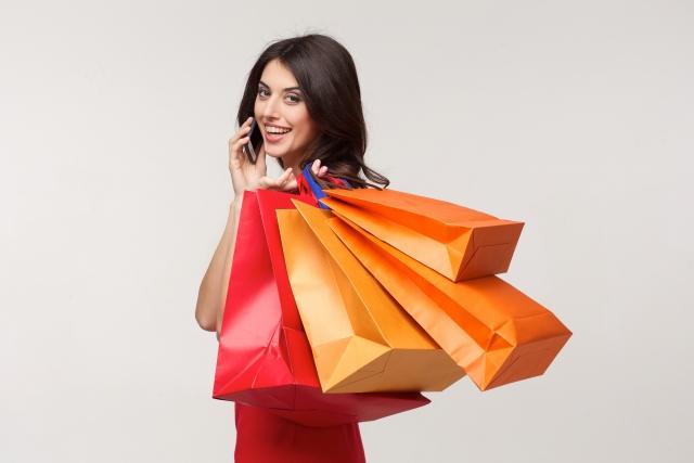 買い物 電話 紙袋