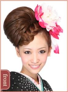 成人式の髪型16