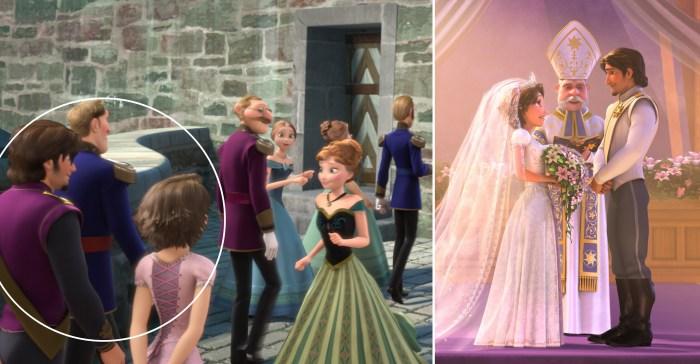 アナと雪の女王に出演するラプンツェル