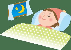 質の良い充分な睡眠をとる