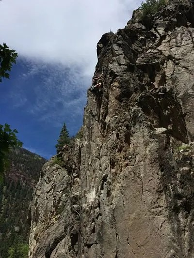 reasons to visit Ouray Colorado rock climbing