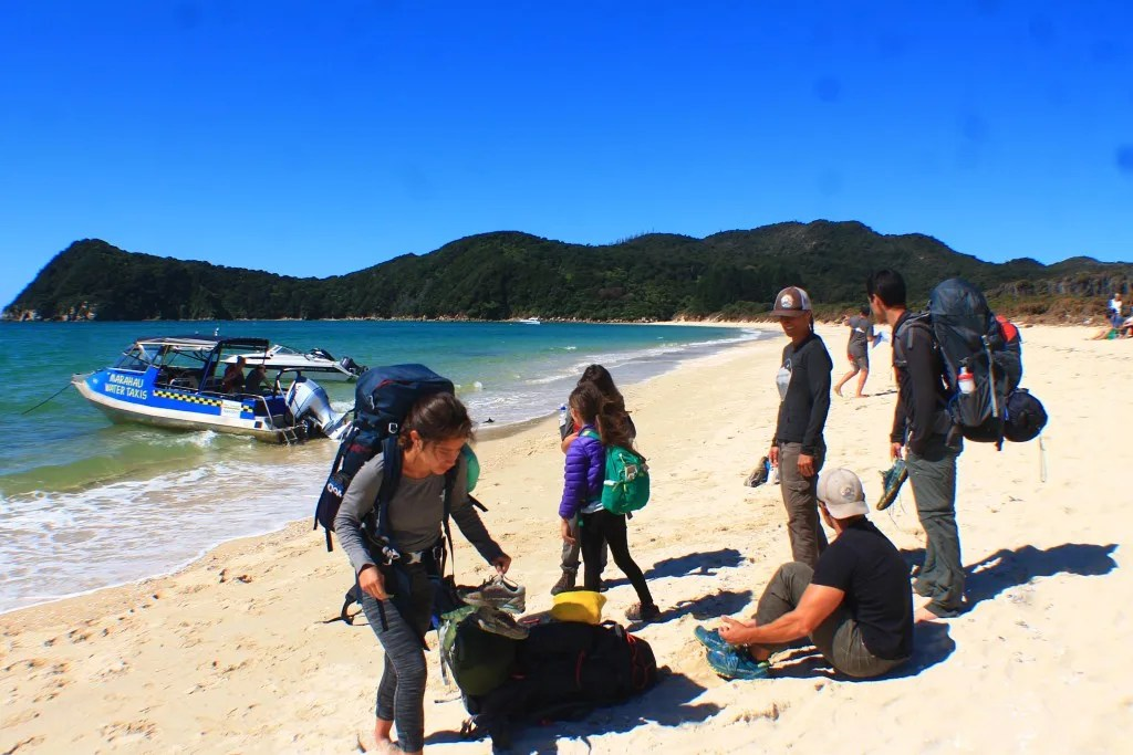 Awaroa, How to backpack Abel Tasman: 3-4 day Abel Tasman Backpacking Itinerary