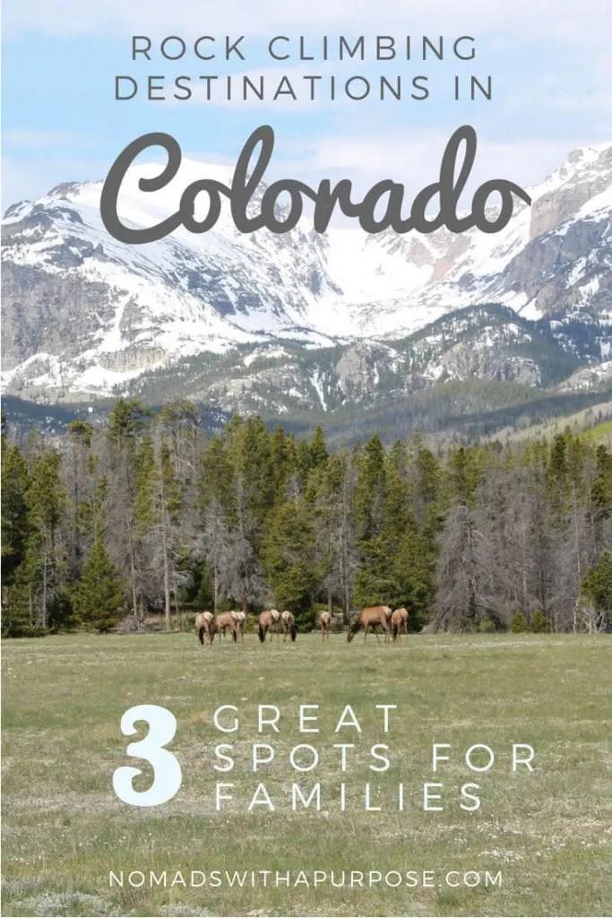 Rock Climbing Colorado Pin