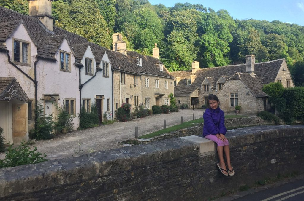 Cotswolds on a road trip in UK