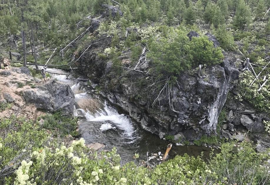 Paulina Creek Natural Waterslide, Peter Skene Ogden Trail OR