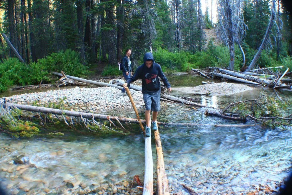 Bridalveil Falls: Best Day Hikes in the Sawtooth Range, Idaho