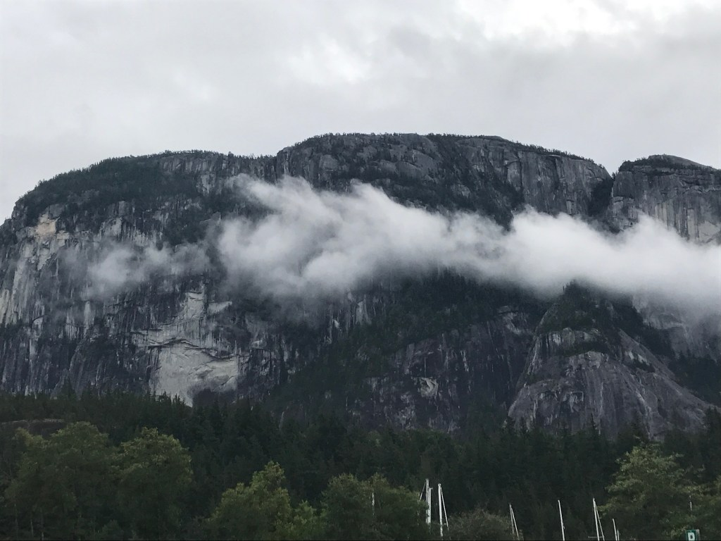 Squamish on our summer adventure road trip