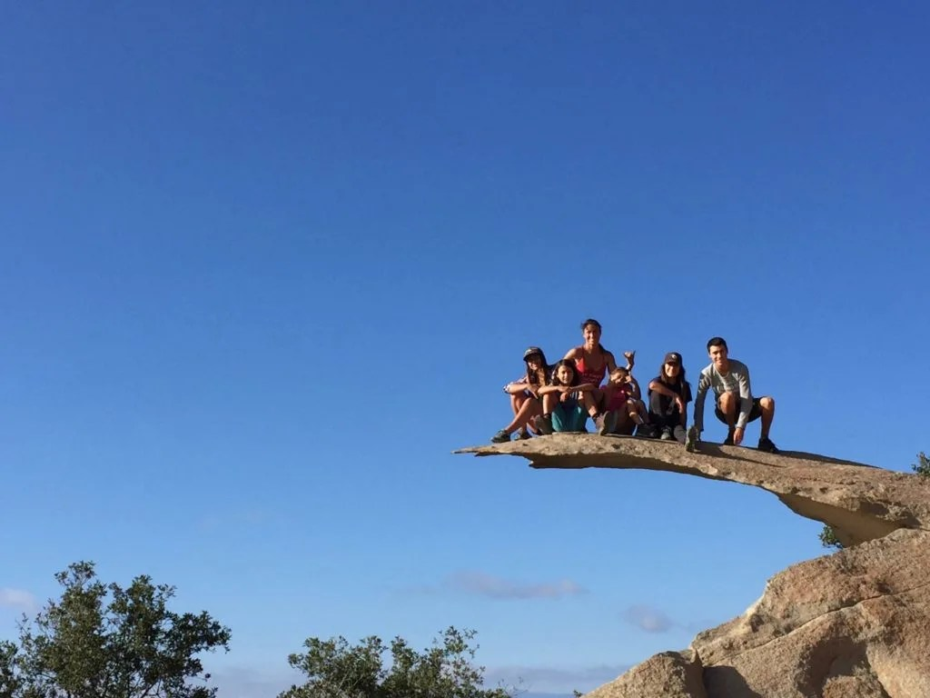 Outdoor Adventure Guide to San Diego: Potato Chip Rock
